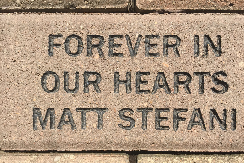 Forever In Our Hearts Matt-Stefani